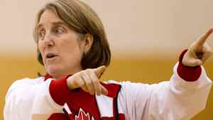 Canadian women's national basketball team coach Allison McNeill directs her team during practice at the University of the Fraser Valley in Abbotsford, B.C., on Wednesday May 16, 2012. DARRYL DYCK FOR THE GLOBE AND MAIL