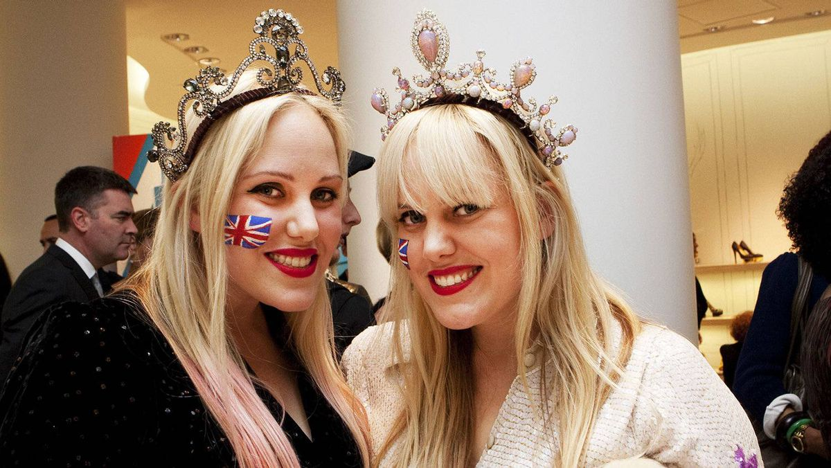 Designers Caillianne (left) and Samantha Beckerman