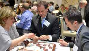 Erin Cimino, Rod Black, Tony Cimino at Scrabble With the Stars