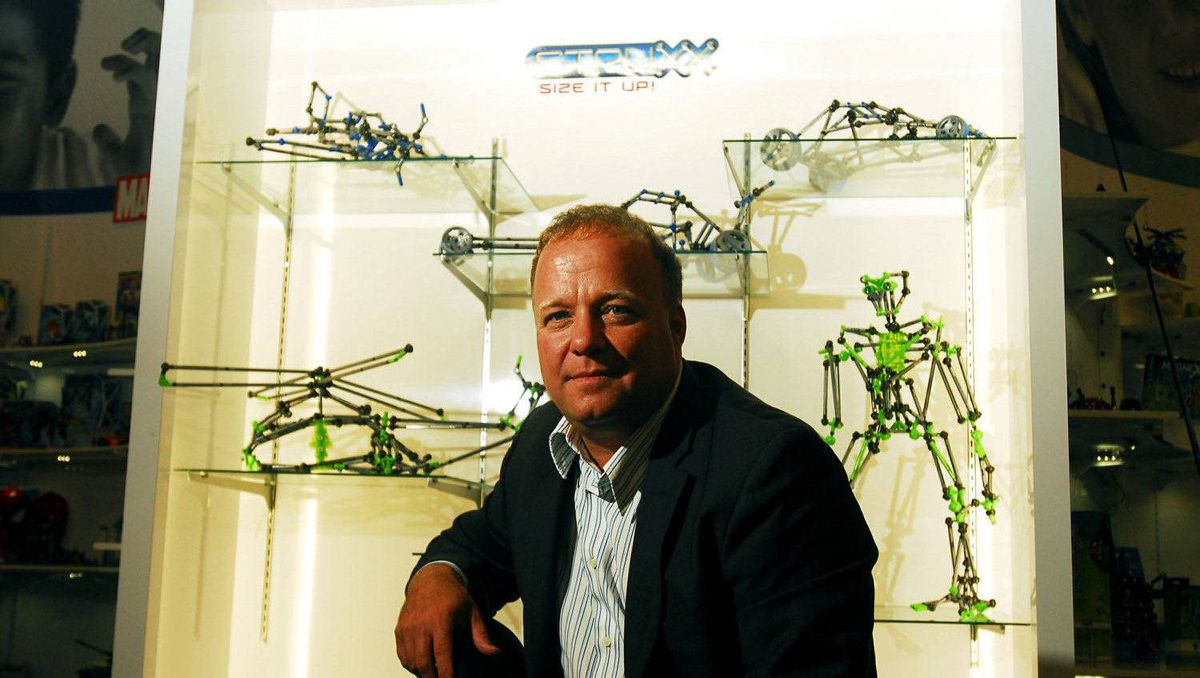 Mega Brands CEO Marc Bertrand at the company's headquarters in Montreal. August 19, 2008.