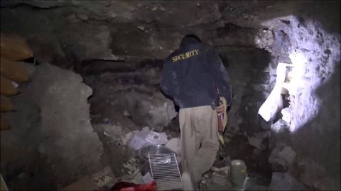 Complex of Islamic State tunnels found under Iraqi town