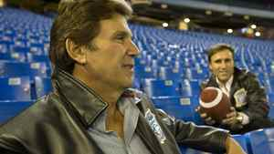 Toronto Argonaut owners Howard Sokolowski (left) and David Cynamon sit inside the Rogers Centre in Toronto on Saturday, November 3, 2007. File Photo by Philip Cheung/The Globe and Mail