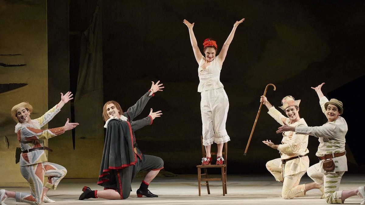 "A scene from the Canadian Opera Company production of ""Ariadne auf Naxos"""
