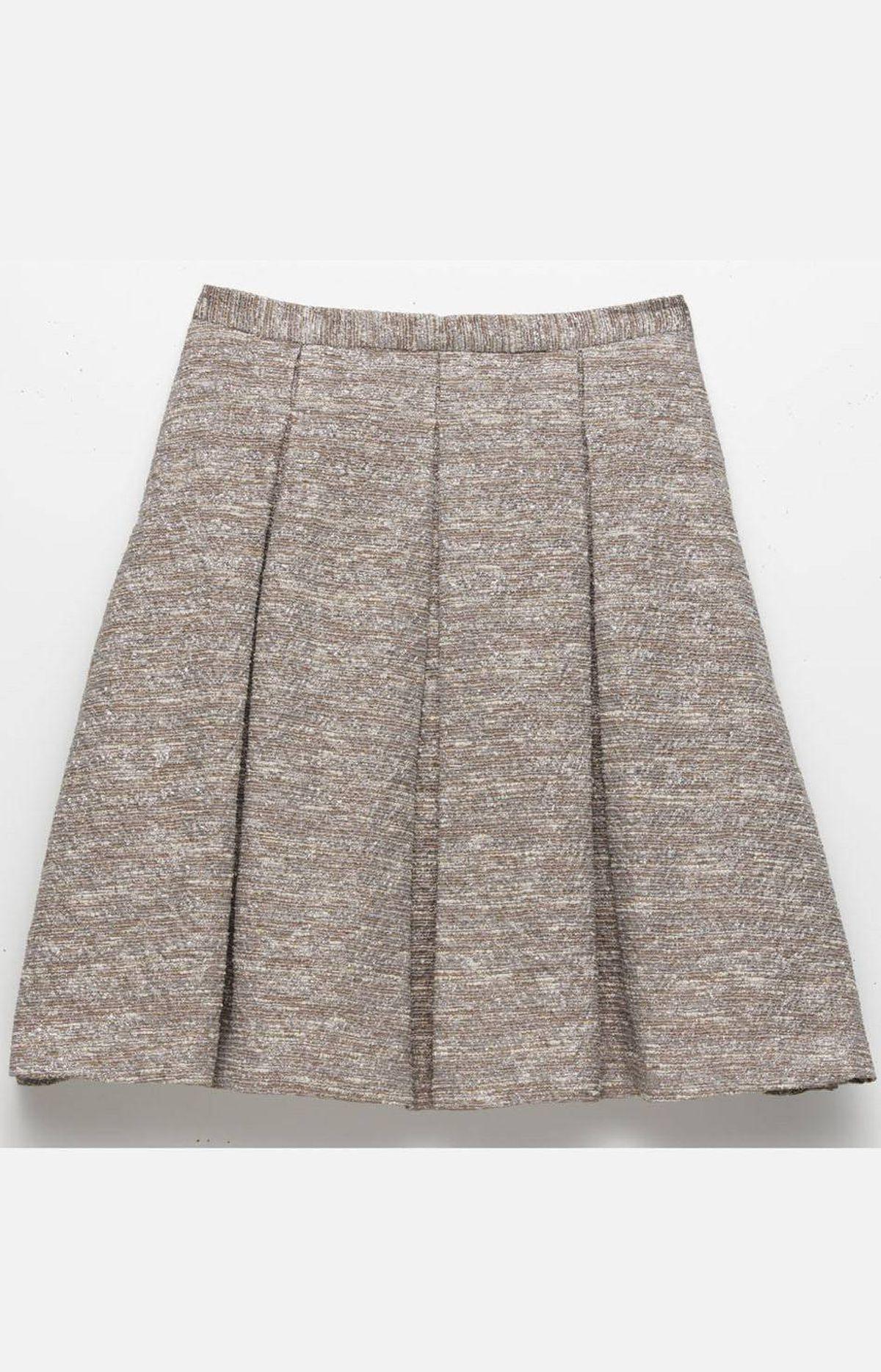 Pleated swing skirt by Dennis Merotto, $425 through www.dennismerotto.com.