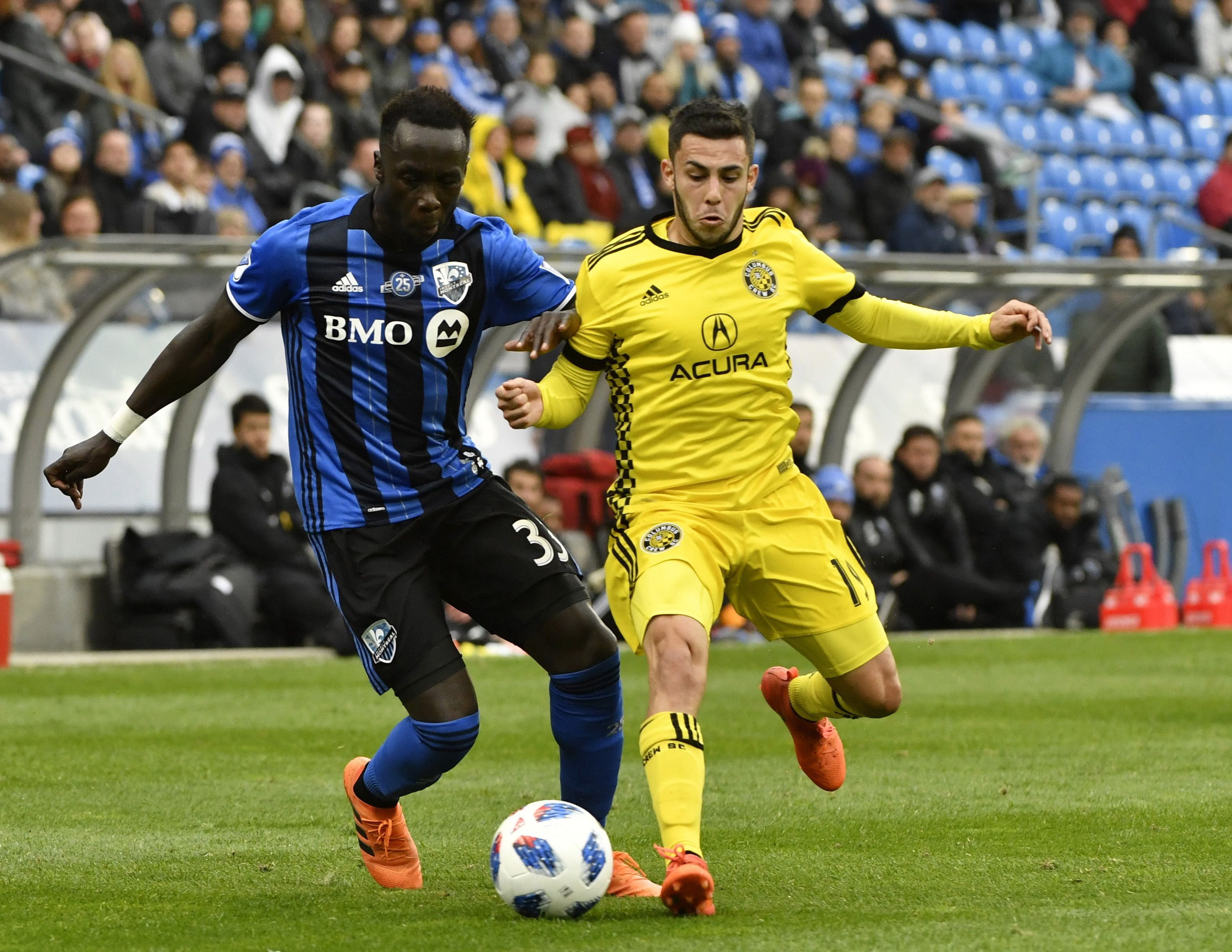 Montreal Impact decline options on six players, including Bacary Sagna and Rod Fanni