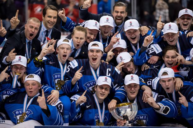 Image result for when did finland win world juniors