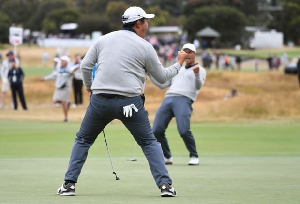 Internationals extend lead over U.S. at Presidents Cup