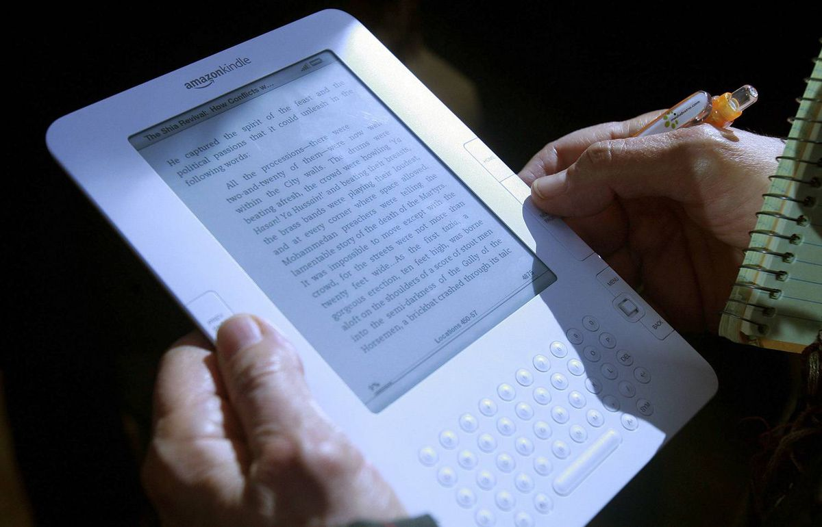 Amazon's Kindle e-reader