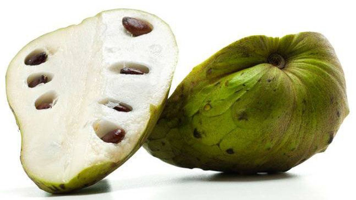 Cherimoya or custard apple