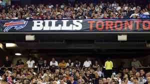 Fans enjoy the action during preseason NFL game action between the Pittsburgh Steelers and the Buffalo Bills at the Rogers Centre in Toronto, Thursday, August 14, 2008. THE CANADIAN PRESS/J.P. Moczulski
