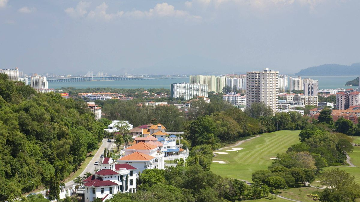 Penang island, Malaysia.