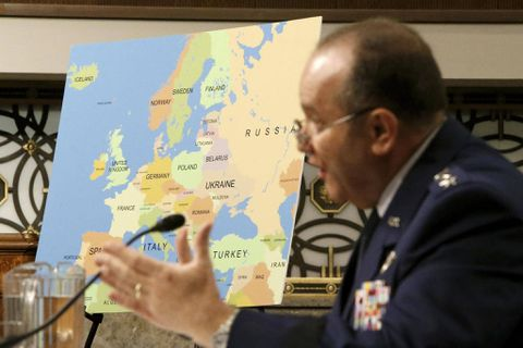 U.S. commander: Another Russian offensive possible in Ukraine after lull