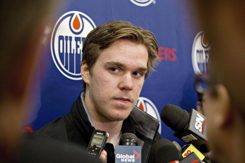 Oilers rookie Connor McDavid says missing game against Leafs 'hurts a lot'