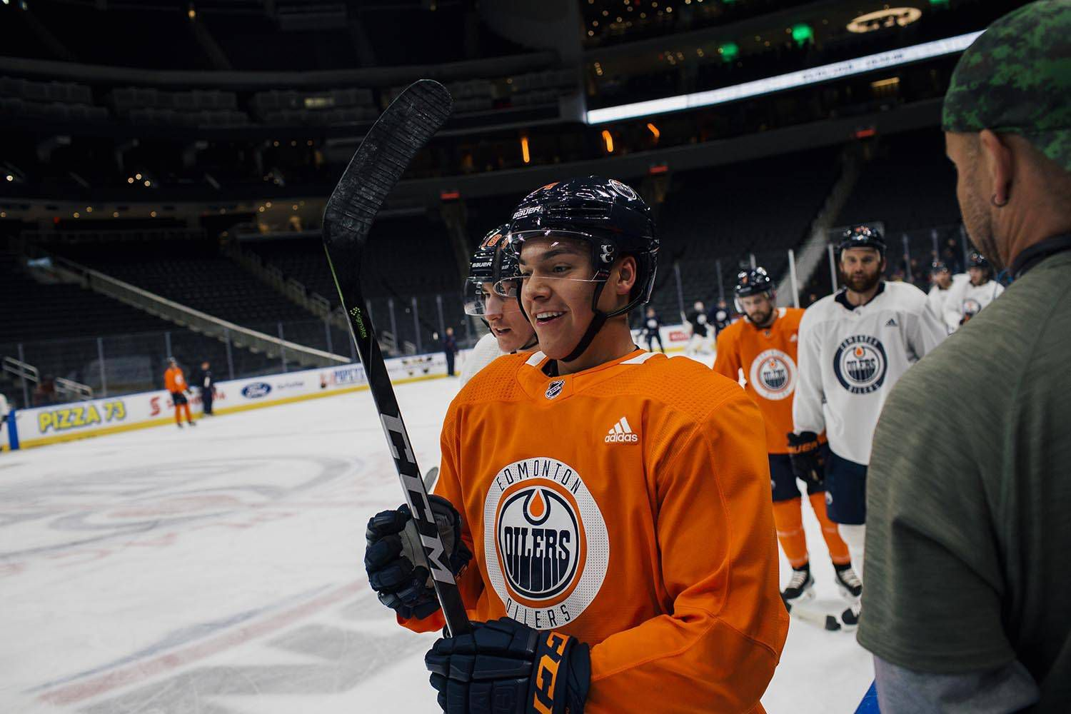 First Nations celebrate as Indigenous player Ethan Bear makes NHL debut  with Oilers 901b4597b