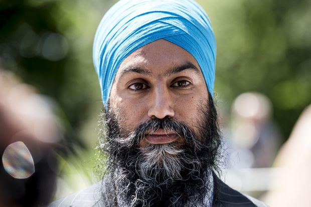 NDP leader Singh accused of sending 'wrong message' by ruling out support for Tory minority