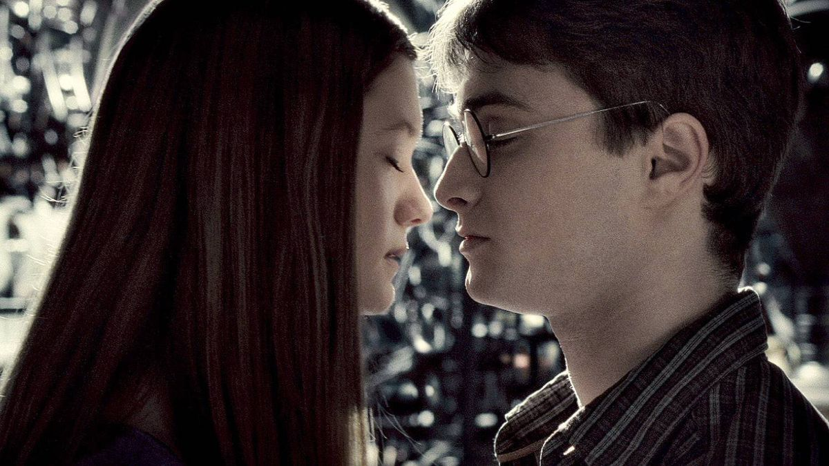 """Bonnie Wright as Ginny Weasley and Daniel Radcliffe as Harry Potter in Warner Bros. fantasy adventure """"Harry Potter and the Half-Blood Prince."""""""