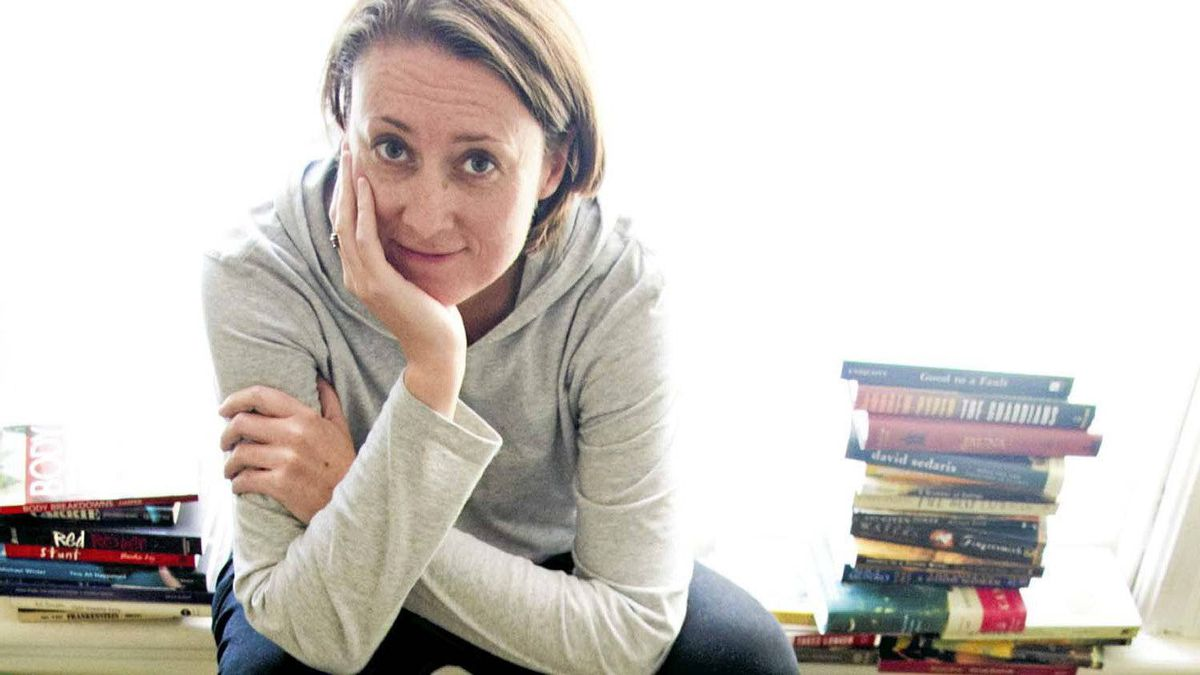 "Julie Wilson, author of ""Seen Reading"""