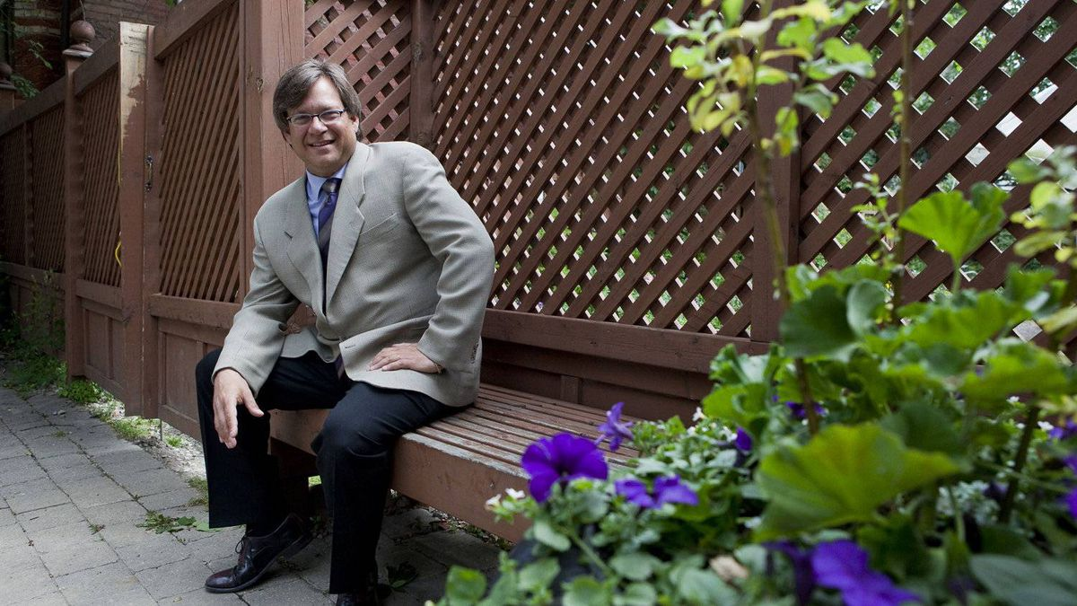 File phot of Art Mesher, CEO of The Descartes Systems Group Inc.