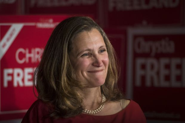 Will Chrystia Freeland be the best prime minister Canada never had?