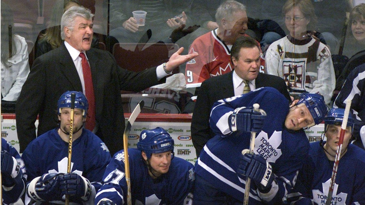 Pat Quinn coached the Toronto Maple Leafs from 1998-2006.
