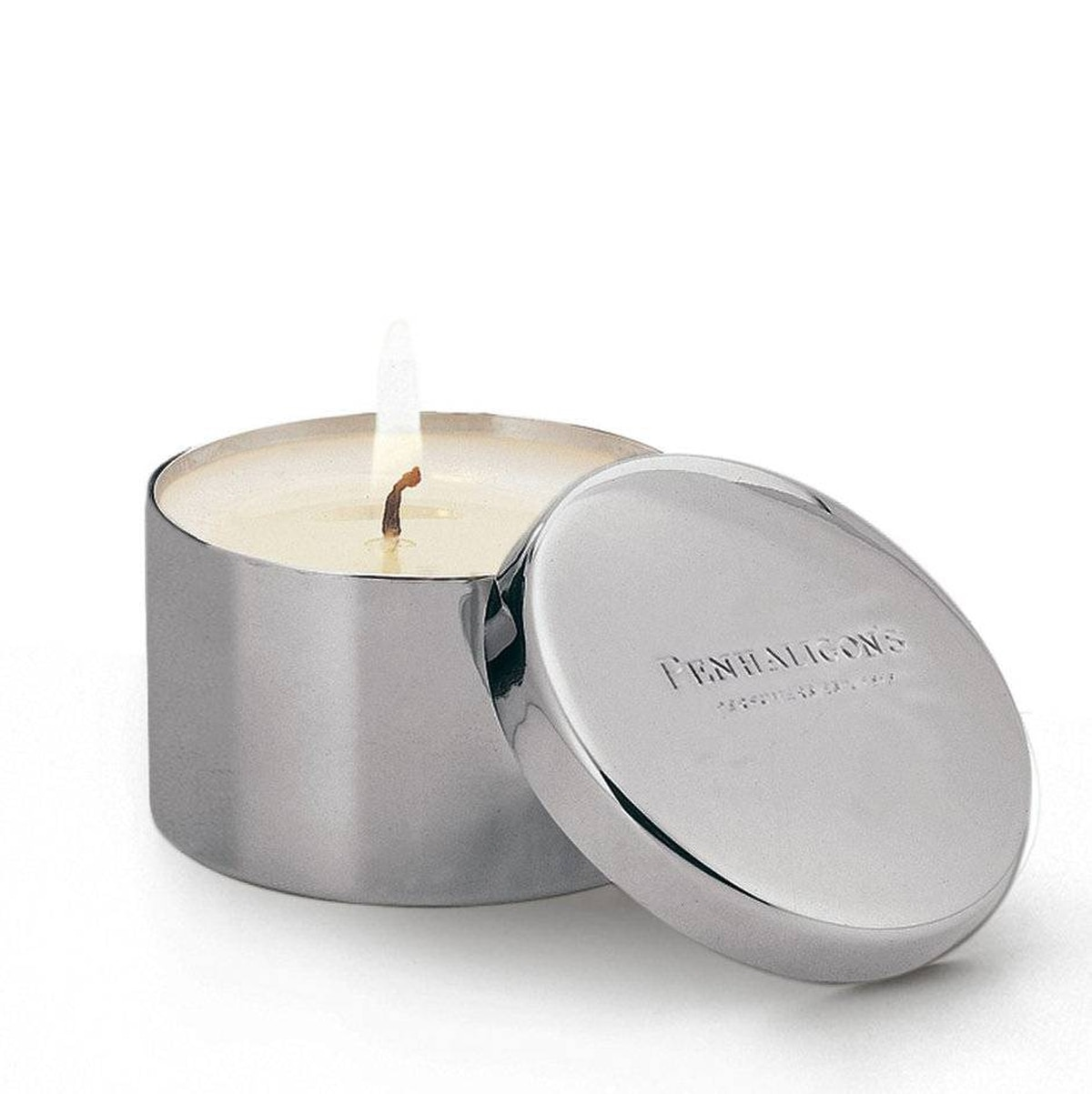 Setting the mood Mood lighting comes in a portable silver-plated package with Penhaligon's Quercus travel candle. Its fragrant medley of citrus, basil, jasmine, cardamom and lily of the valley scents can instantly turn a stuffy hotel room into a homey pied-à-terre. $55 (U.S.); penhaligons.com