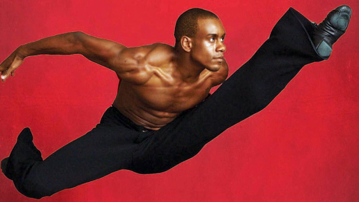 Alvin Ailey's American Dance Theatre's Kirven James Boyd.