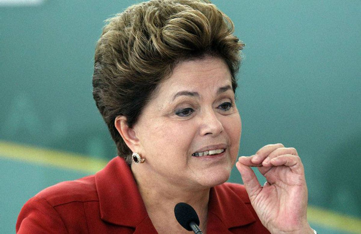 Brazil's President Dilma Rousseff Brazil's President Dilma Rousseff Brazil's President Dilma Rousseff