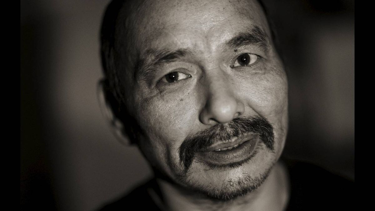 His participation with the men's group has been very helpful he said during an interview outside of Repulse Bay, Nunavut on November 14, 2010.