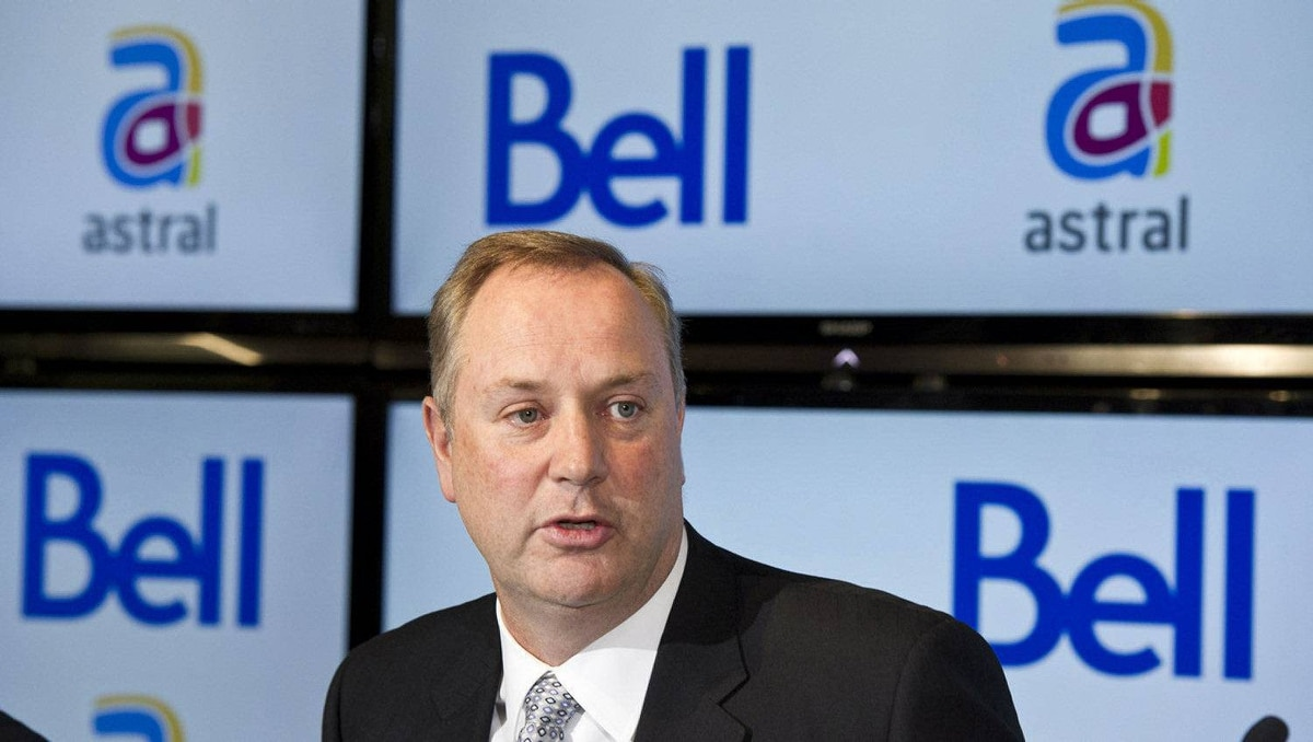George Cope, BCE president announces is seen in this March 16, 2012 file photo.