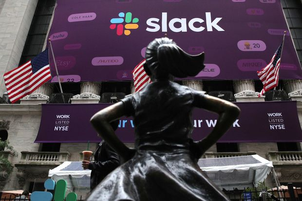 Slack stock surges on debut, valuing company at more than $25-billion