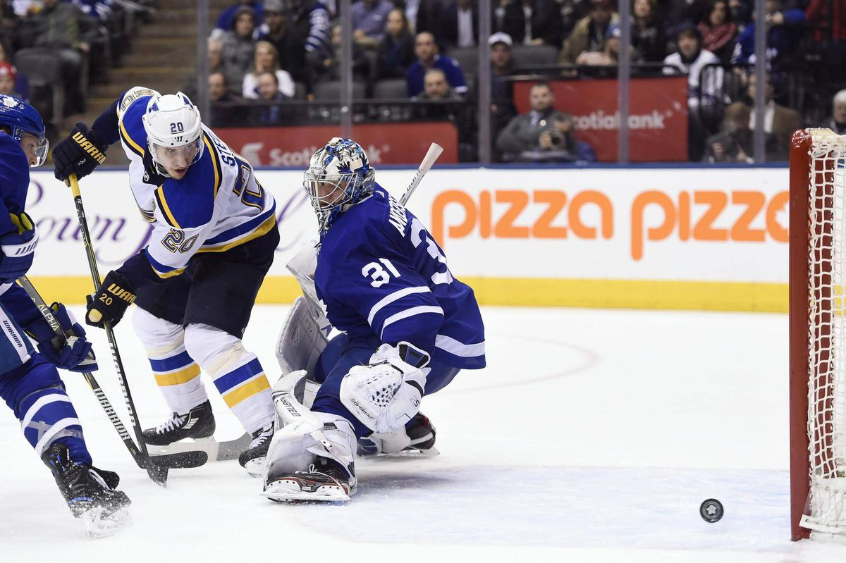 leafs give up late goal, lose to blues in overtime - the globe and mail