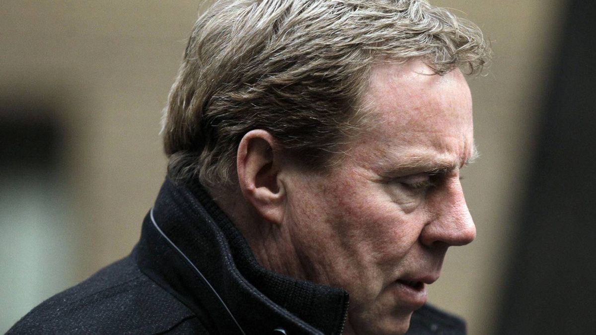 Tottenham Hotspur football club manager Harry Redknapp arrives at Southwark Crown Court in London, Tuesday, Feb. 7, 2012. Redknapp is accused of two counts of cheating the public revenue between specific dates in 2002 and 2007 when he was manager of Portsmouth Football Club. (AP Photo/Matt Dunham)