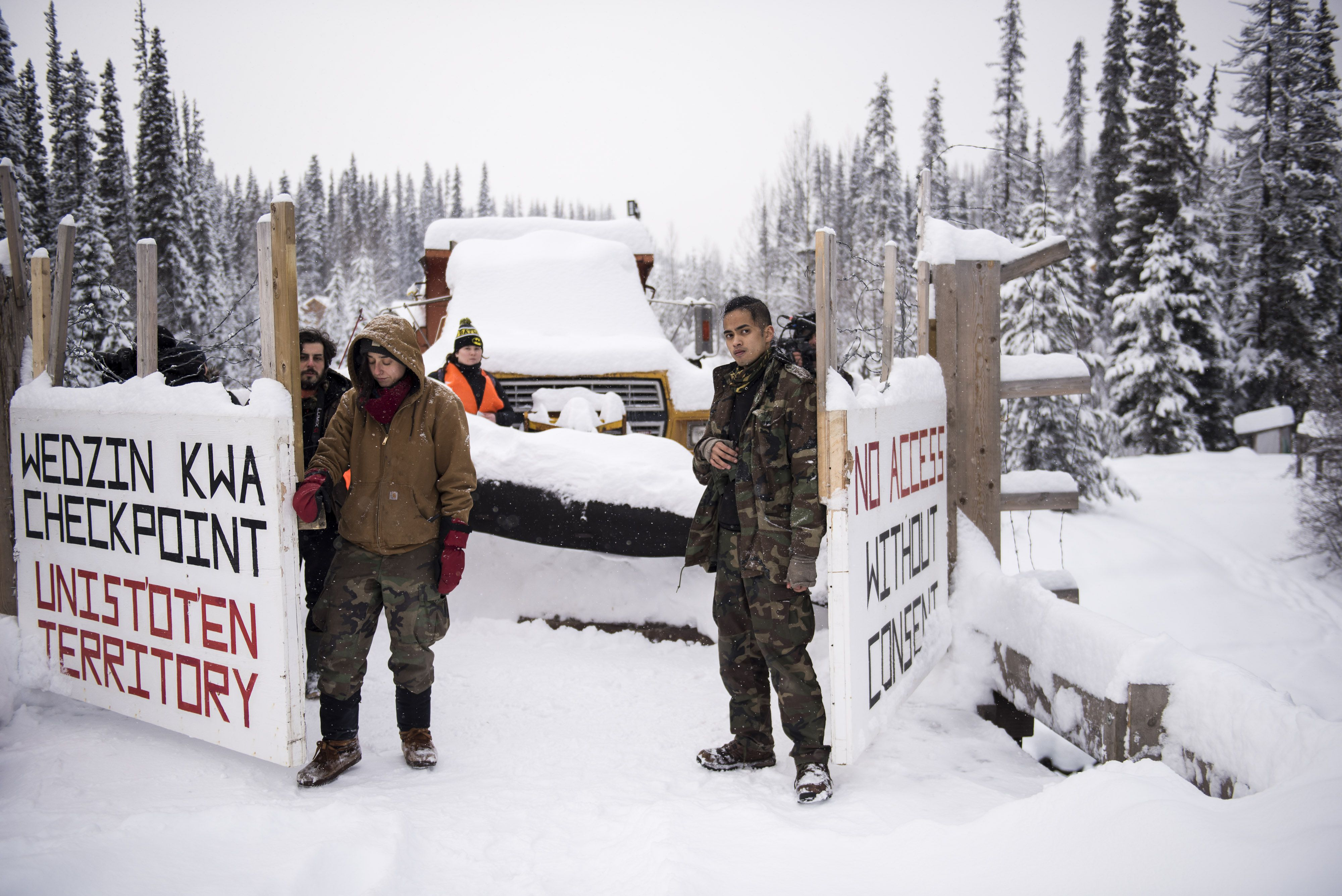 This pipeline is challenging Indigenous law and Western law  Who