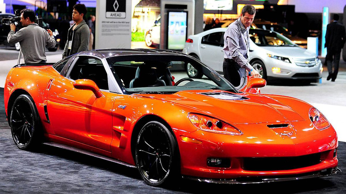 Chevy Corvette Supercharged ZR1