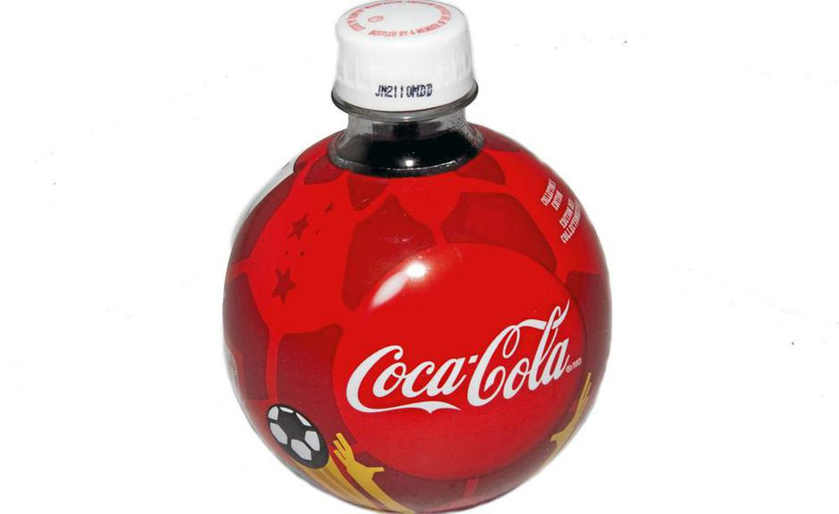 Tastes like team spirit: Coca-Cola's commemorative soccer-ball-shaped bottles are ideal for game-watching parties, making great little mementos that guests can take home with them. About $1 each at grocery stores nationwide.