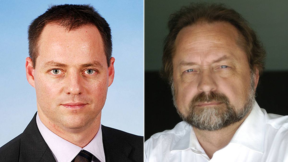 Israeli parliamentarian Yohanan Plesner (left) from Knesset website and Patrick Martin (right) by Fred Lum/The Globe and Mail.