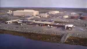 File photo of the Ekati diamond mine.