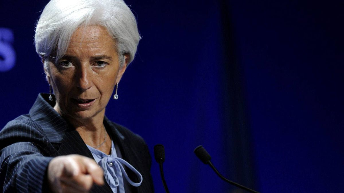 IMF managing director Christine Lagarde gestures during a press conference as part of the G20 summit in Cannes, France, Friday, Nov. 4, 2011.