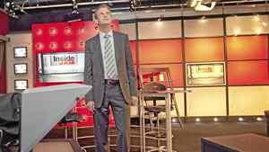 Kory Teneyke, VP of development, Sun News TV is seen touring the Sun TV in Toronto on July 7, 2010.