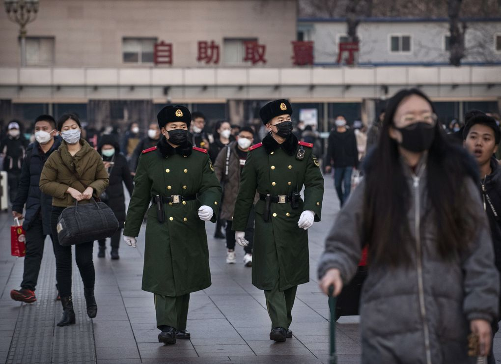 In photos: Coronavirus Outbreak Forces Chinese to Rethink Travel Plans