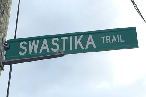 Jewish group calls for Ontario town to rename street called Swastika Trail