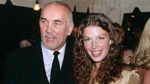 Actors Frank Langella and Jessica Pare arrive for the premiere of their film Stardom at the Toronto Film Festival at Roy Thomson Hall in Toronto, Thursday, Sept. 7, 2000.