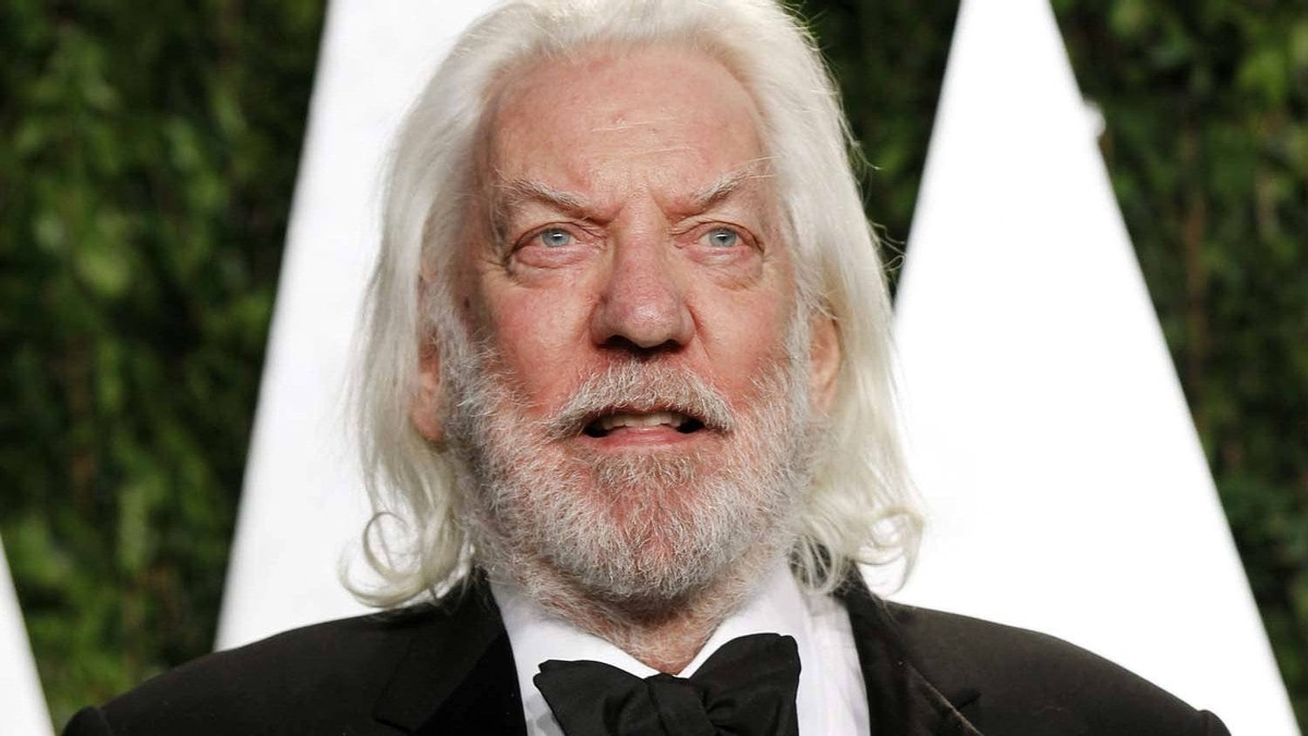 "Donald Sutherland, seen here at the 2012 Vanity Fair Oscar party in West Hollywood on Sunday, has been cast in a new Fox sitcom called ""Living Loaded."""
