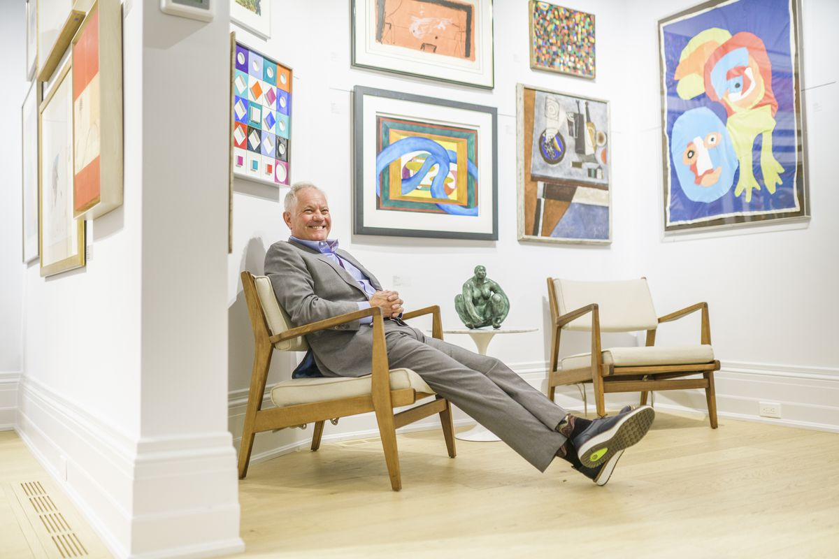 Creative downsizing: Companies are selling valuable art as they seek t... image