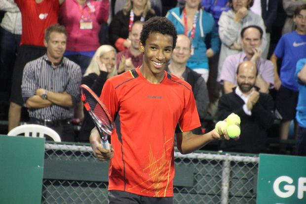Félix Auger-Aliassime has that 'it' that defines future greatness in tennis