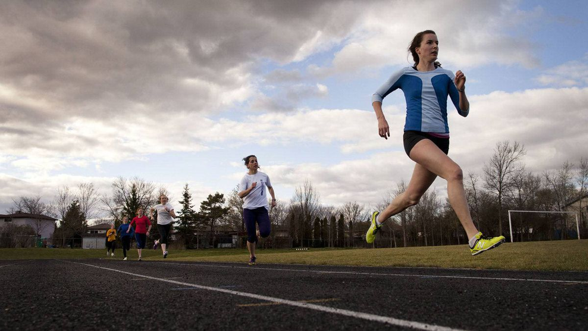Building on the success of a dynamic local track club recognized as the best in Canada, one of the club's goals is to foster a sense of community.