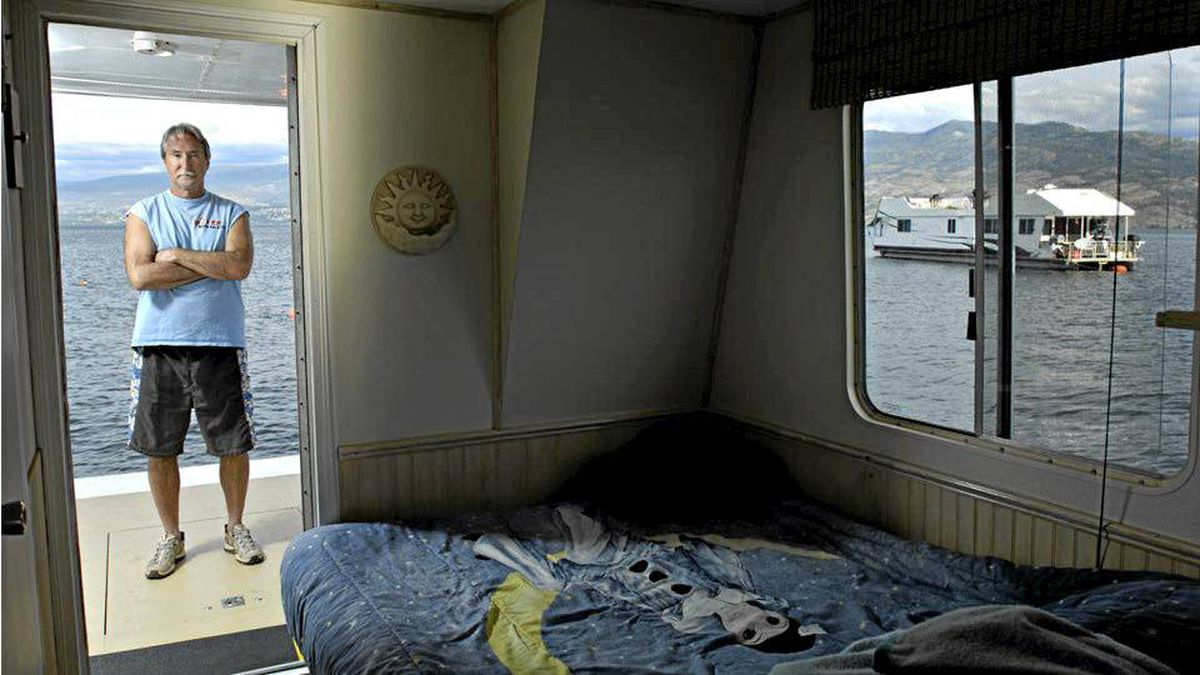 b81e1bbcf7c1 Keith Newcomb of Kelowna has had a houseboat on Okanagan Lake since 1983