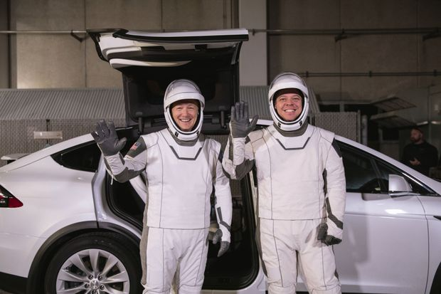 SpaceX's first astronaut launch breaking new ground for style