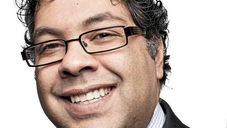 Calgary mayor Naheed Nenshi, photographed in his office on Feb. 2, 2011, on his 100th day in office.