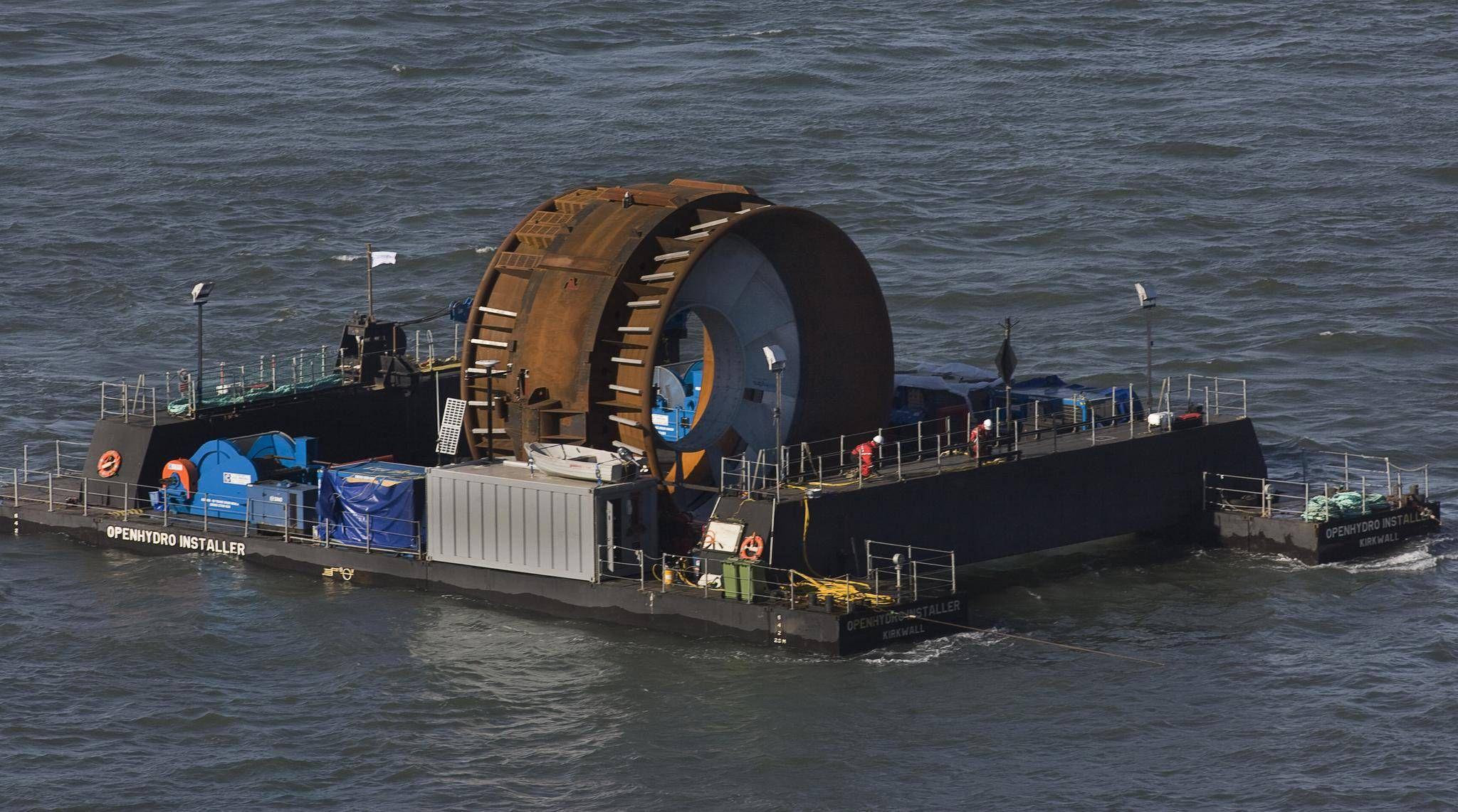 Nova Scotia and British Columbia partner on tidal energy development